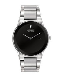 Citizen Eco-Drive Silvertone Stainless Steel Case