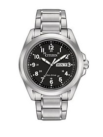 Citizen Eco-Drive Sport Silvertone Stainless Steel