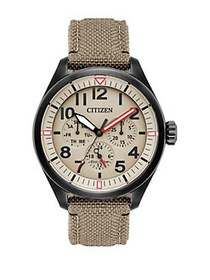 Citizen Chandler Eco-Drive Military Analog Cordura