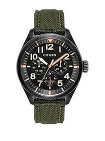 Citizen Chandler Eco-Drive Analog Military Cordura