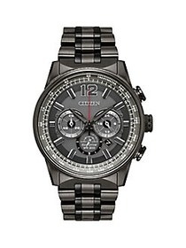 Citizen Nighthawk Eco-Drive Stainless Steel Watch