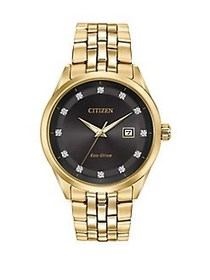 Citizen Corso Stainless Steel Bracelet Watch GOLD