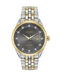 Citizen Corso Stainless Steel Bracelet Watch TWO T
