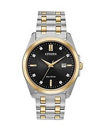 Citizen Corso Eco-Drive Two-Tone Watch TWO TONE