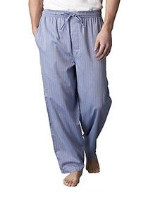 Nautica Stripe Cotton Pajama Pants BLUE