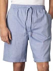 Nautica Pima Cotton Woven Pajama Shorts BLUE