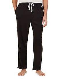 Nautica Knit Lounge Pants BLACK