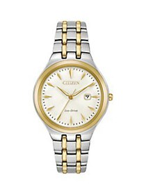 Citizen Corso Eco-Drive Two-Tone Stainless Steel W