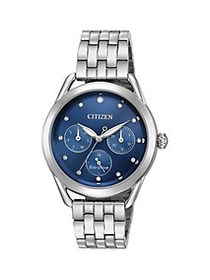 Citizen Drive Eco-Drive Stainless Steel Watch SILV
