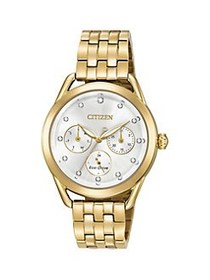 Citizen Drive Eco-Drive Stainless Steel Watch GOLD
