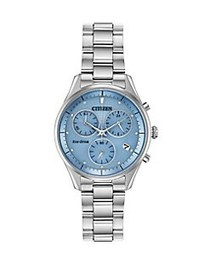 Citizen Chandler Eco-Drive Stainless Steel Bracele