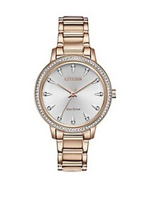 Citizen Silhouette Crystal Diamond, Stainless Stee