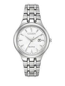 Citizen Eco-Drive Polished Stainless Steel Bracele