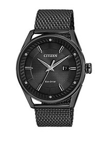 Citizen Drive Eco-Drive Analog Stainless Steel Bra