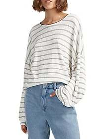 French Connection Pearle Striped Jersey Top SUMMER
