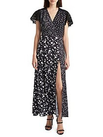 French Connection Alyiah Crepe Maxi Dress UTILITY