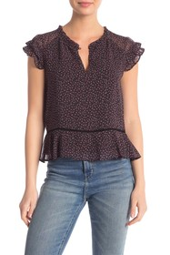Rebecca Minkoff Desiree Floral Top