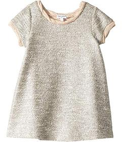Splendid Littles Lurex Short Sleeve Dress (Big Kid