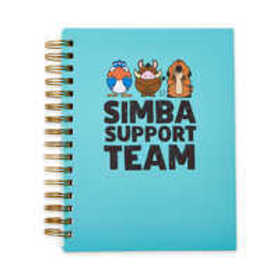 The Lion King ''Simba Support Team'' Journal