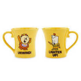 Cogsworth and Lumiere Mug Set - Beauty and the Bea
