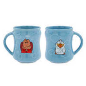 Sebastian and Scuttle Mug Set - The Little Mermaid