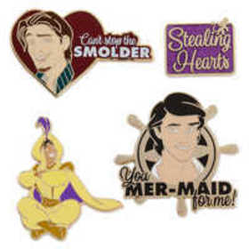 Disney Prince Pin Set 1 - Oh My Disney
