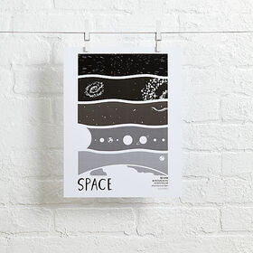 Space Science Wall Art