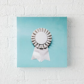 Ribbon Canvas Wall Art