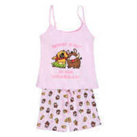 Timon and Pumbaa Cami Set for Women - The Lion Kin