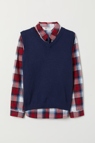 Shirt and Sweater Vest