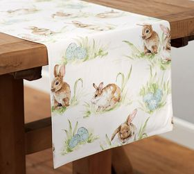Pasture Bunny Table Runner