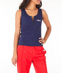 Women's Fila Marcella Zip Tank