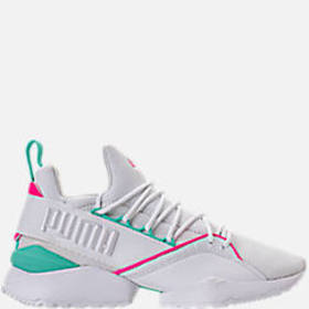 Women's Puma Muse Maia Varsity Casual Shoes