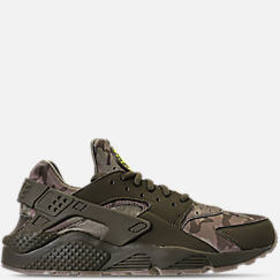 Men's Nike Air Huarache Run Camo Casual Shoes