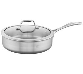 ZWILLING Spirit 3-Ply Stainless 3-qt Saute Pan - K