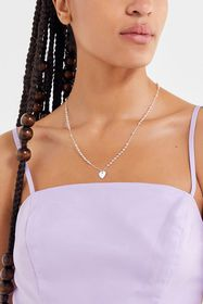 Sweetheart Rosary Necklace