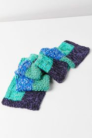 Craft Knit Blue Scarf