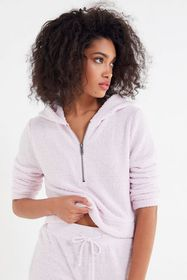 Out From Under Madison Marshmallow Half-Zip Hoodie