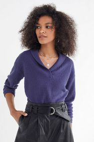 UO Slow Things Down Shawl Sweater