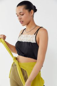 Out From Under Penny Side-Tie Cropped Cami