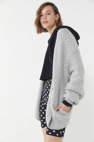 UO Jacey Button-Front Sweater Jacket