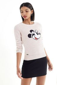 Lacoste X Disney Minnie Mouse Striped Sweater