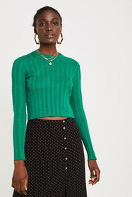 UO Mini Cable Knit Sweater
