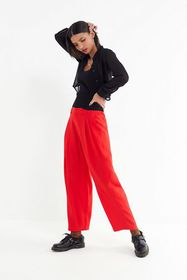 UO Arlo Pleated Cropped Pant