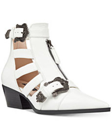 Nine West Carrillo Cutout Buckle Booties
