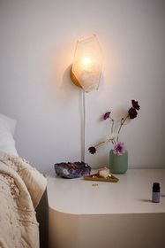 Crystal Resin Sconce