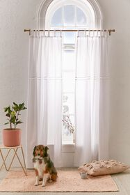 Ladder Lace Window Panel