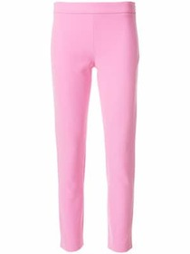 Moschino high waisted crop trousers