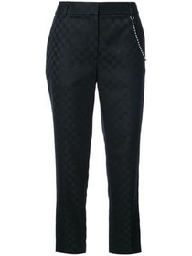 Alexander Wang checkered trousers with chain