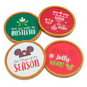 Mickey Mouse Holiday Coaster Set